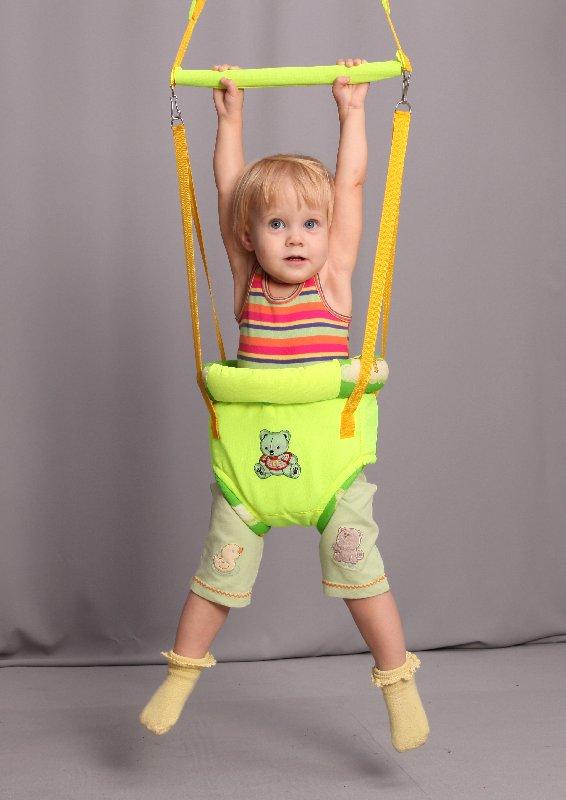 Как сделать прыгунки для ребенка своими руками